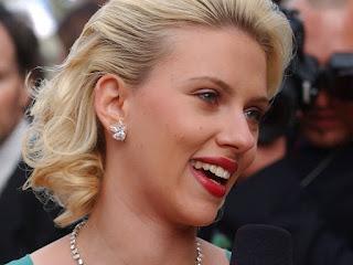 Scarlett Johansson beautiful actress