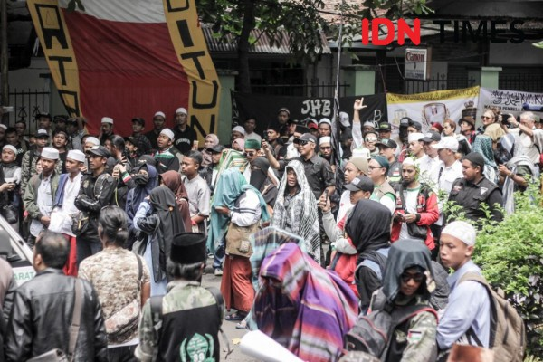 500 Anggota FPI Bandung Siap ke Jakarta Kawal Sidang Sengketa Pilpres