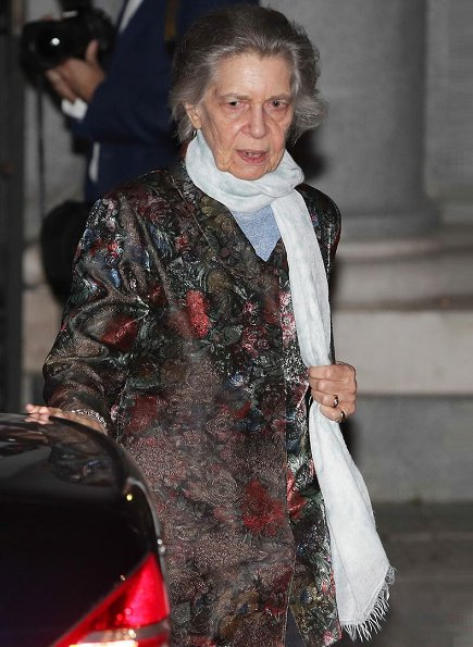 Queen Sofia of Spain and Princess Irene of Greece attended the Solidarity Concert of the Recycled Orchestra of Cateura