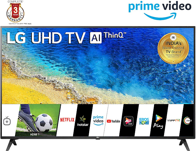 LG 139 cm (55 inches) 4K UHD Smart LED TV