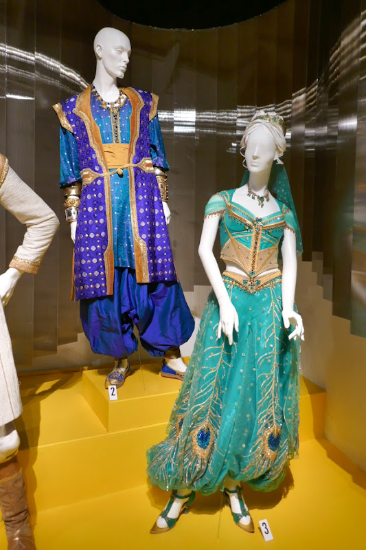 Genie Jasmine Aladdin movie costumes