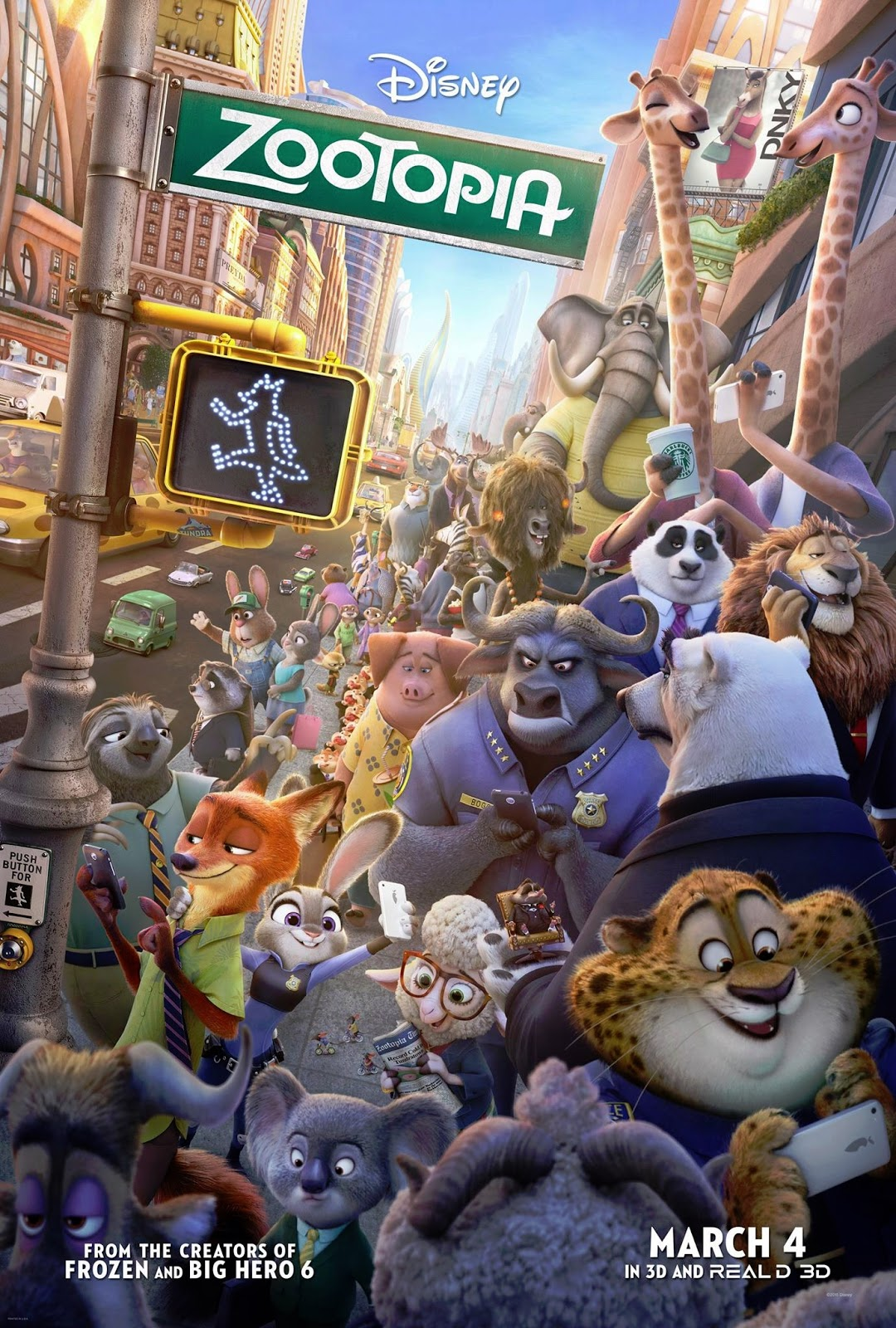 Disney animated movies 55 zootopia 2016