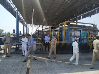 लॉकडाउन के दृष्टिगत आटा टोल टैक्स का स्थलीय निरीक्षण -जिलाधिकारी जालौन   Terrestrial inspection of flour toll tax in view of lockdown - District Magistrate Jalaun     संवाददाता, Journalist Anil Prabhakar.                 www.upviral24.in