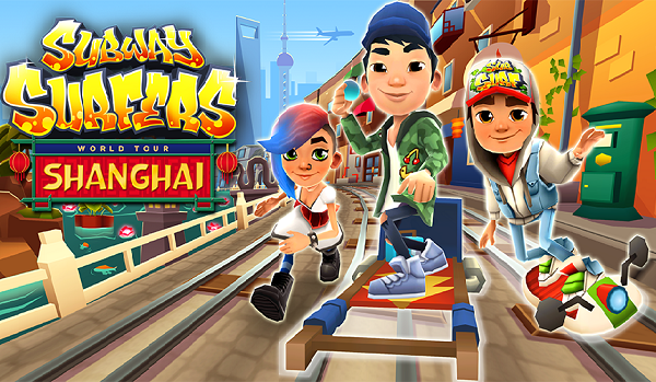 Download Subway Surfers Shanghai Modded Apk Unlimited Coins