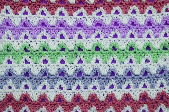 4 - Crochet Imagen Puntada a colores a crochet y ganchillo por Majovel crochet