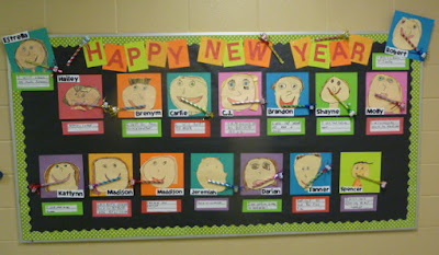 Happy New Year Ideas For Kindergarten Photograph | Chalk Tal