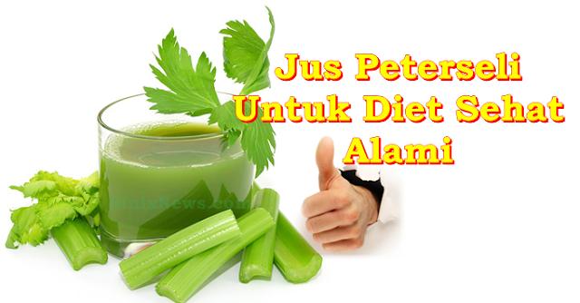 Jus Peterseli Untuk Diet Sehat