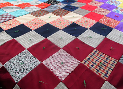 Nothing like grandmas quilt-Vickie's Kitchen and garden