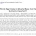 O efeito da ingestão de ovo inteiro na massa muscular: a gema e seus nutrientes são importantes?