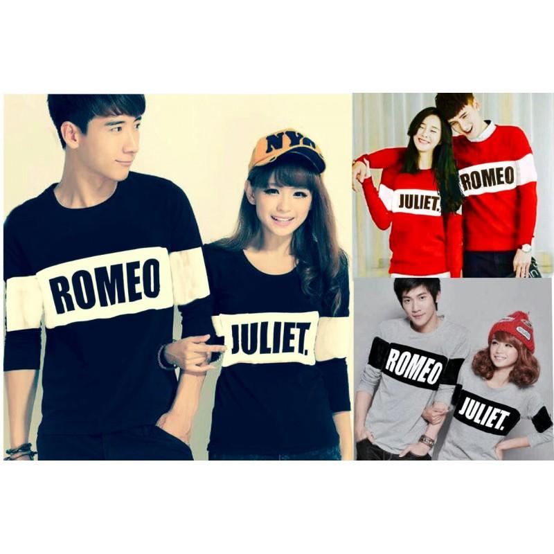 Jual Online LP Romeo Bold Couple Murah Jakarta Bahan Combed Terbaru