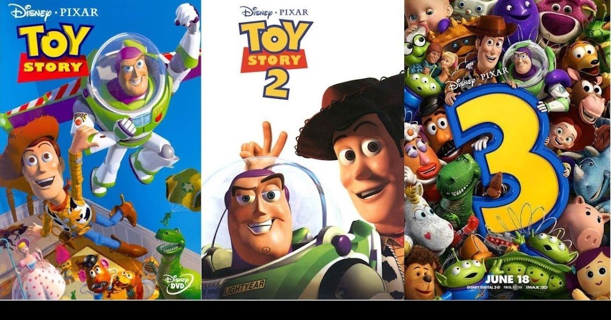 Toy Story Trilogy 1995 To 2010 720p Bdrip S Tamil