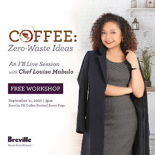 Patty Villegas - The Lifestyle Wanderer - Breville Online Campaign - Virtual Coffee Festival - Year 2 - zero waste ideas