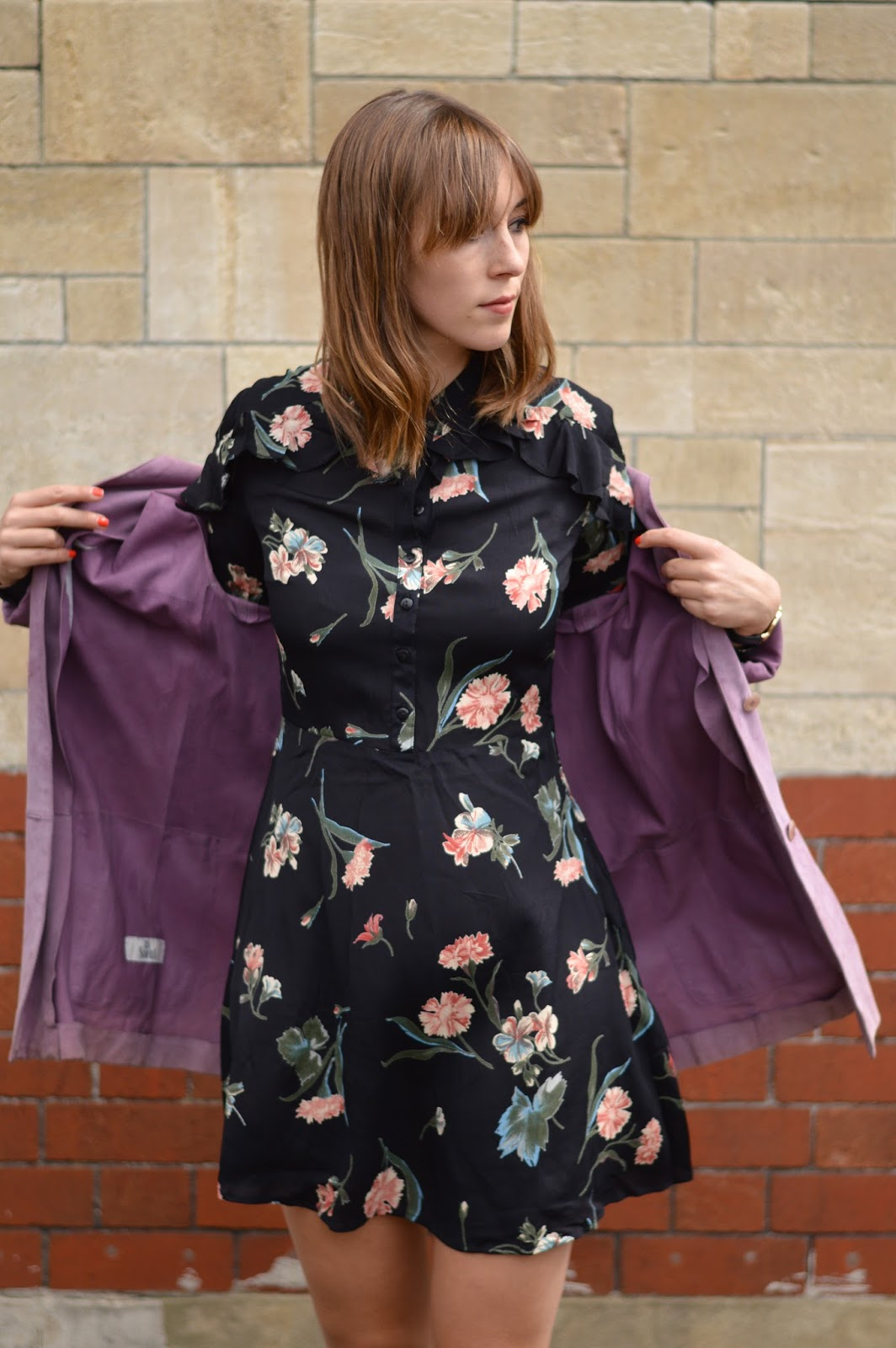 How to wear florals for autumn AW16