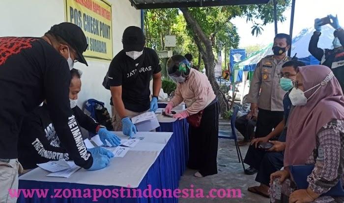 Polda Jatim Terjunkan Satgas Gakkum Dalam Operasi Aman Nusa II di Hari Keempat Pelaksanaan PPKM Darurat