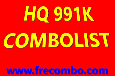 HQ 991K COMBOLIST HITS STREAMING GAMING MUSIC VPN SHOP & LOTS MORE