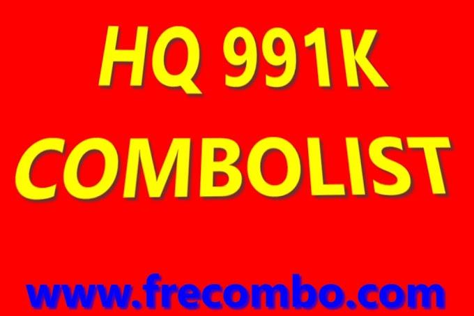 HQ 991K COMBOLIST HITS STREAMING GAMING MUSIC VPN SHOP & LOTS MORE