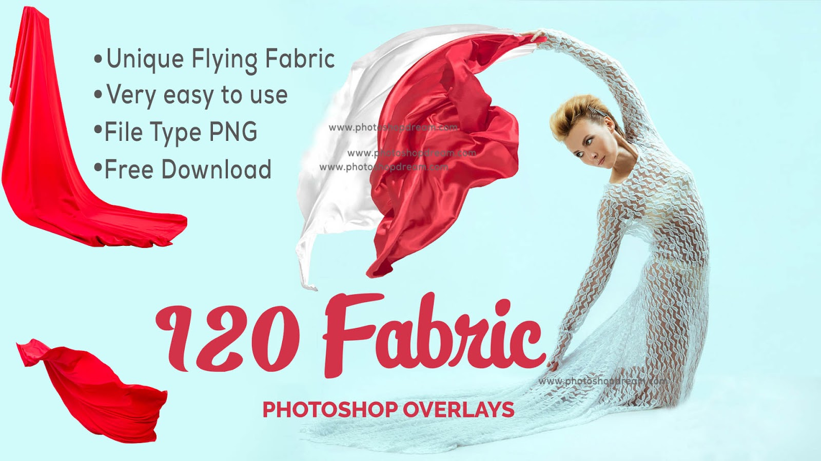 Best 120 Flying Fabric Overlays Free Download | Free Photoshop Overlays