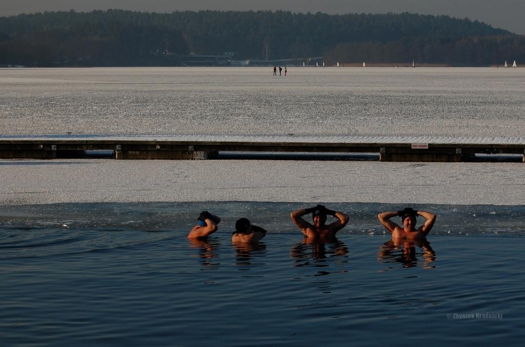 Olsztyn, jezioro Ukiel, morsowanie