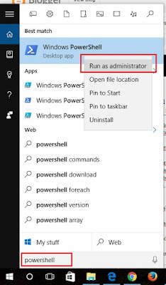 power shell admin