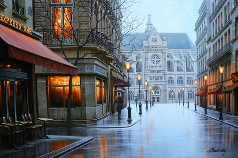 04-Alexey-Butyrsky-Architecture-in-Paintings-of-Cityscapes-at-Night-www-designstack-co