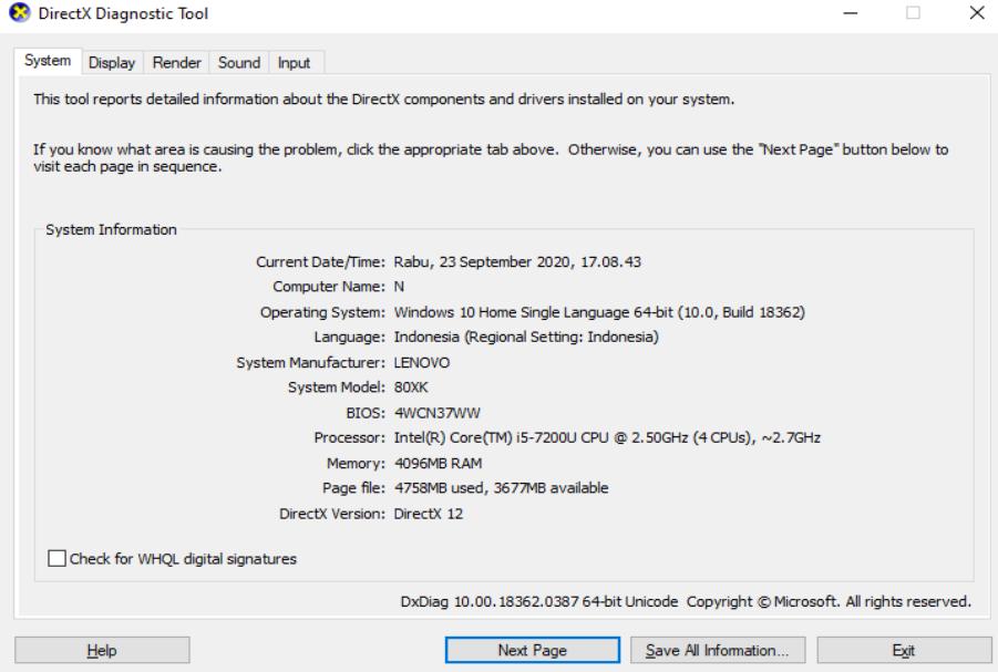 Cara Melihat Tipe Laptop Windows 7, 8, Dan 10