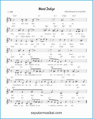 mood indigo lagu jazz standar