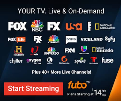 Fubotv Live Iptv Sports Package