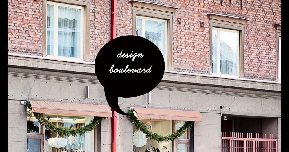 asunto e: Design Boulevard Tampere - uusi lamppu ja vähän muutakin
