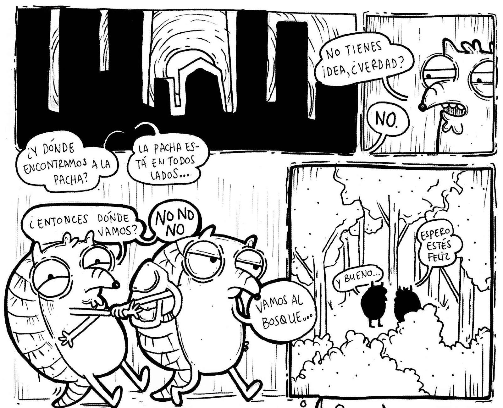 Comic Bolivia: Reseñas de comic boliviano (marzo 2016)