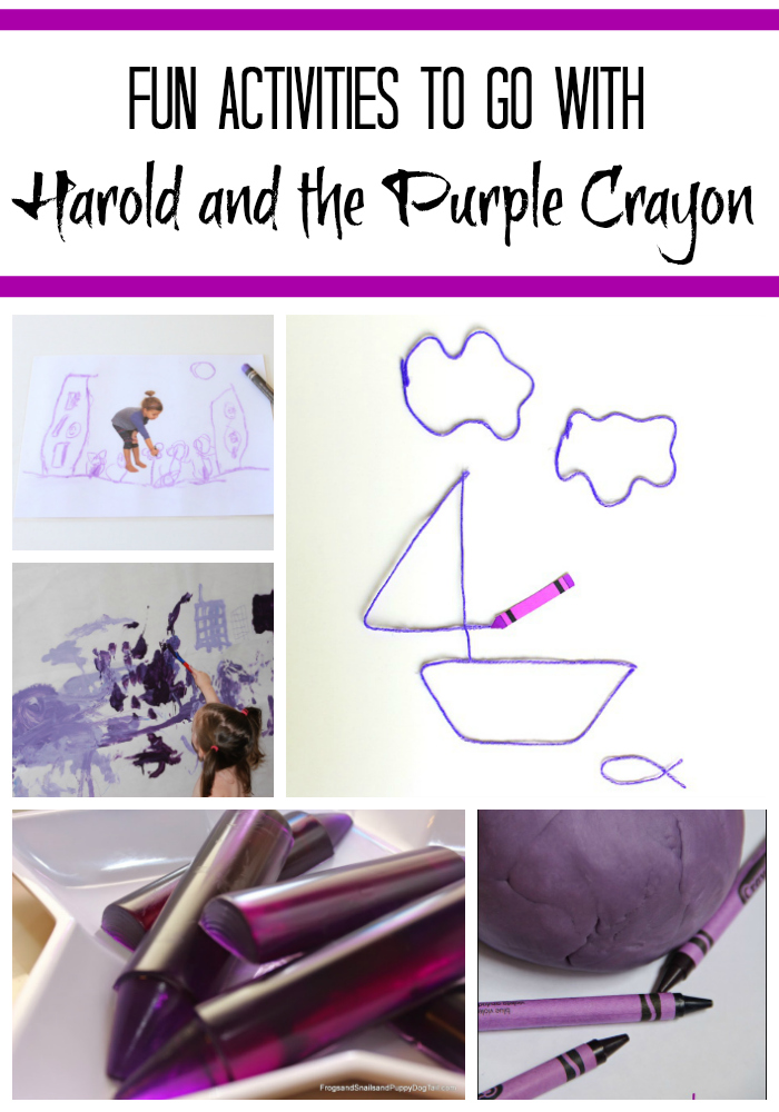 Harold and the Purple Crayon – #JewishBookFun4Kids #3