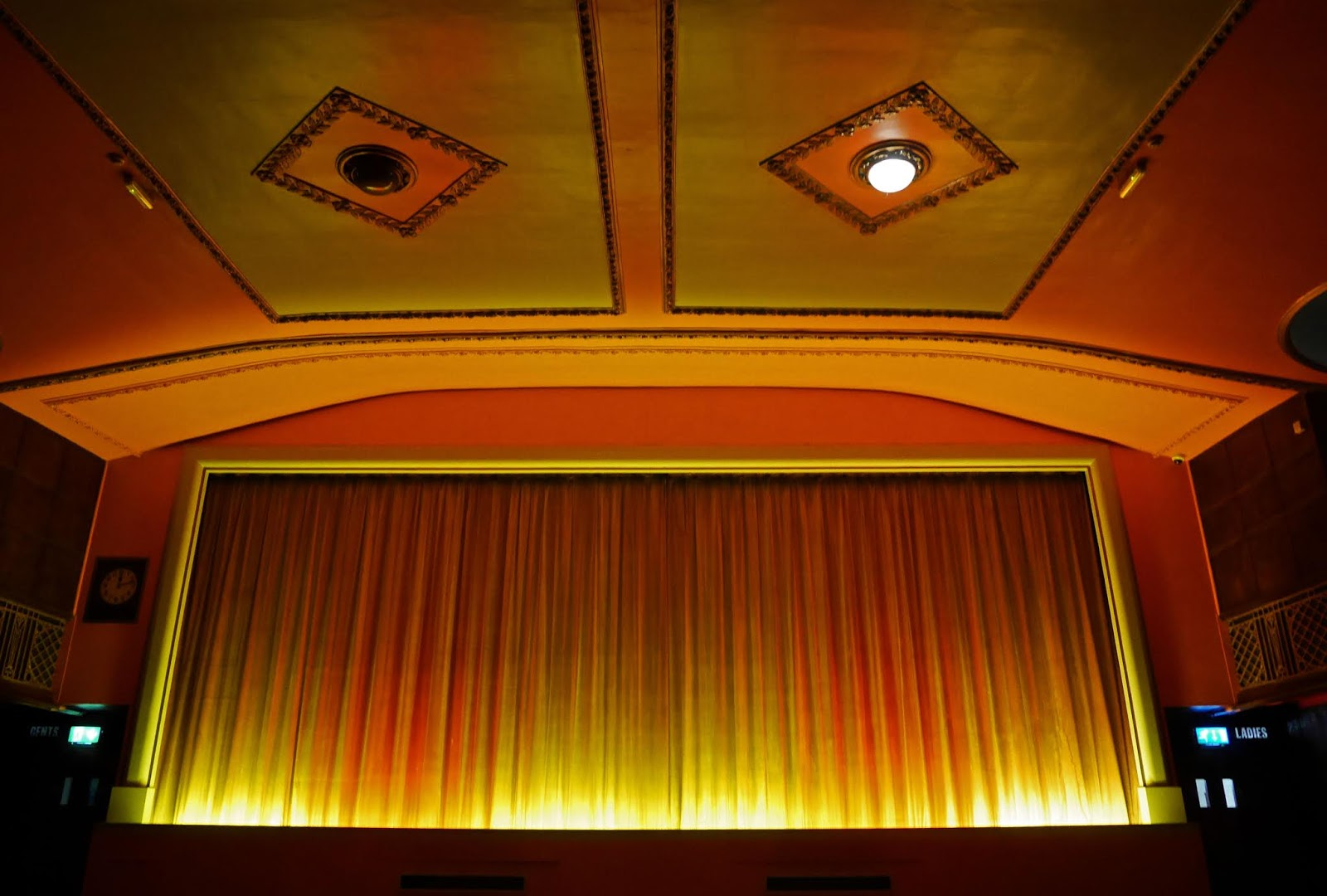 The Dome Cinema's massive screen, Worthing