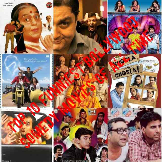 Top 10 Funniest Bollywood Comedy Movies | Comedy Movies List