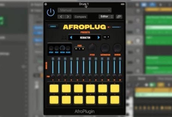 Afroplugin Drum VST Instrument VST AU x64 x86 WIN OSX [FREE]