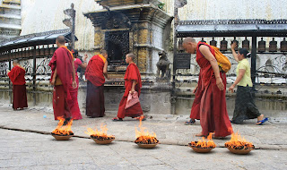Templo de Swayambhunath, Nepal, el mundo en tándem, round the world, mundoporlibre.com