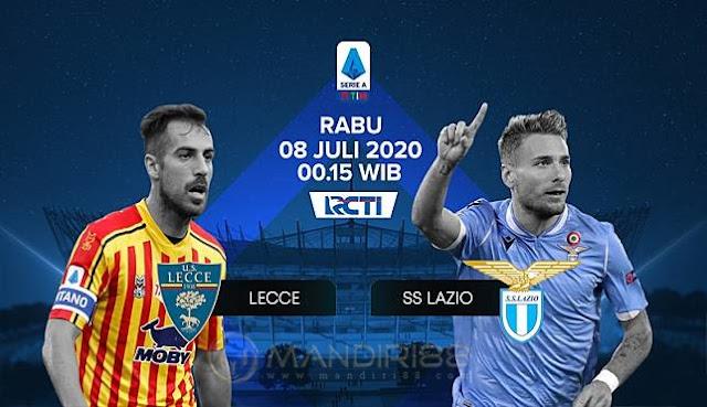 Prediksi Lecce Vs Lazio, Rabu 08 Juli 2020 Pukul 00:30 WIB @ RCTI