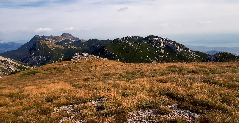 Górskie szlaki w Chorwacji