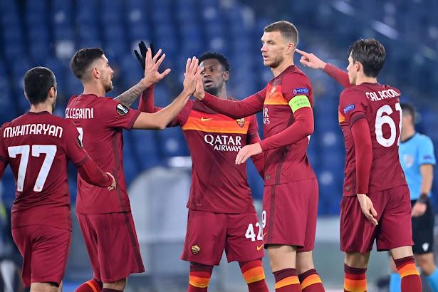 تشكيلة روما الرسمية لمواجهة سسكا صوفيا اليوم الخميس في الدوري الاوروبي