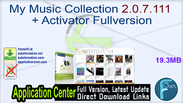 My Music Collection 2.0.7.111 + Activator Fullversion