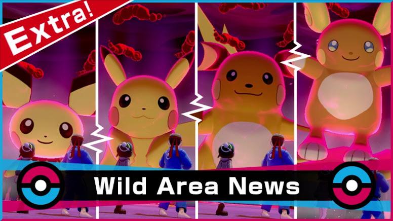 Pikachu Evento Wild Area