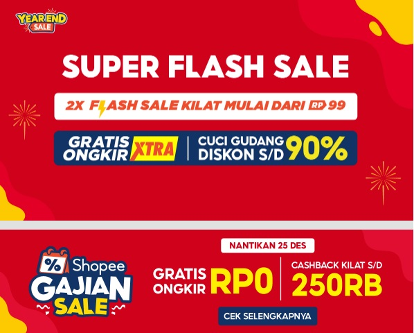 Shopee end year sale