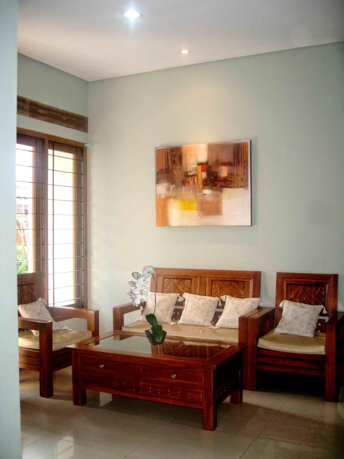 109 Wallpaper Ruang Tamu Sederhana Wallpaper Dinding