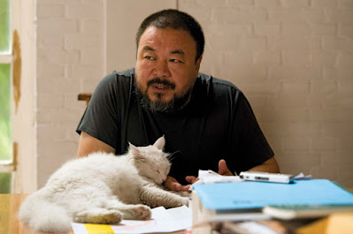 Ai WEIWEI (and one of his many cats)