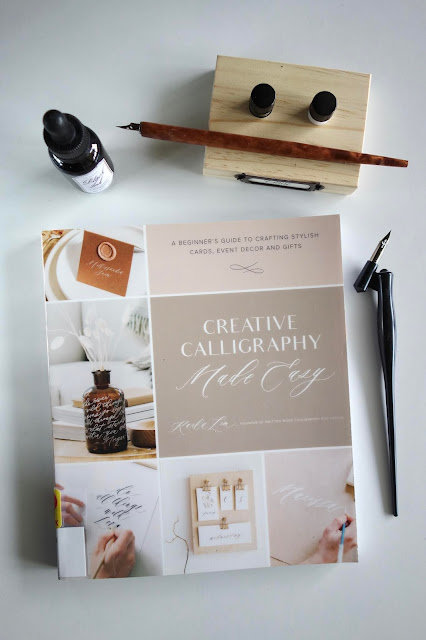 calligraphy, hand lettering, blah to TADA, calligraphy book, Karla Lim, crafts using calligraphy, modern calligraphy, calligraphy projects