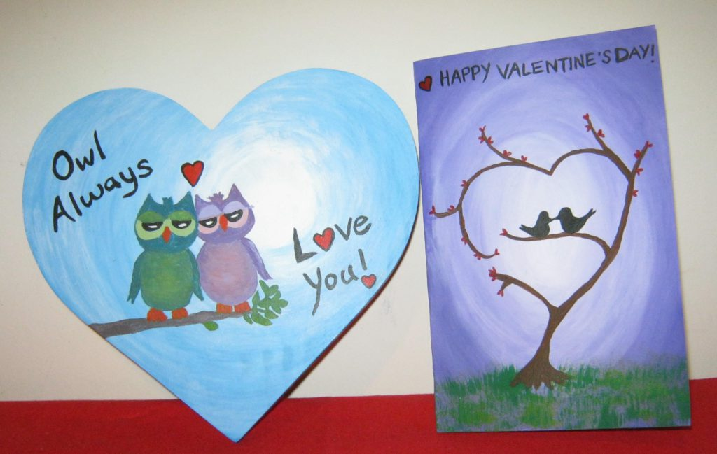 Acrylic Painting And Crafty Ideas Creative Valentine S Day Gift