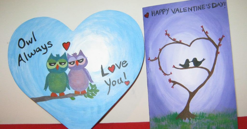 Acrylic Painting And Crafty Ideas Creative Valentine S Day Gift To Touch The Heart