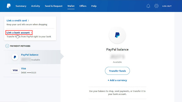 Cara Menambahkan / Menghubungkan Rekening Bank Lokal ke PayPal