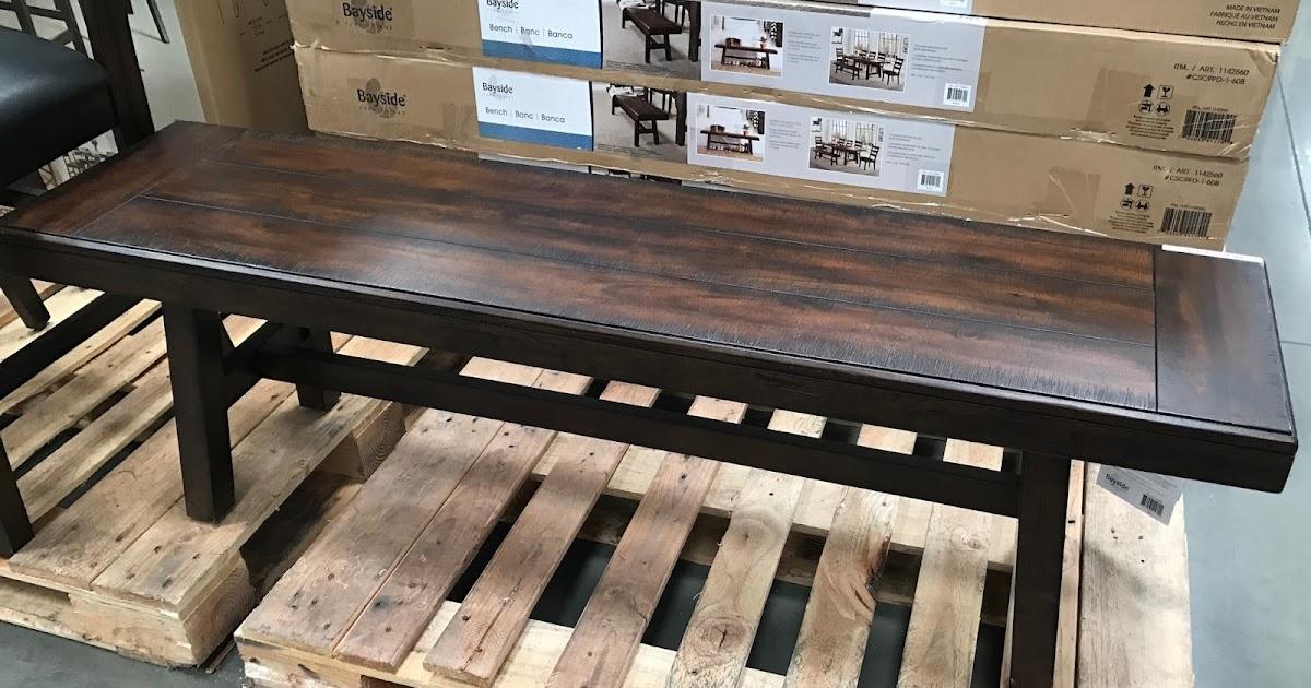 Bayside Furnishings Bench Costco Weekender