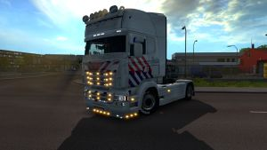 Dutch Police skin for Scania RJL