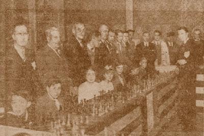 Inauguración de la sección infantil del Círcol Gracienc en 1934