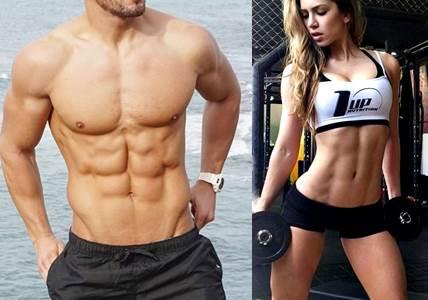 Personas que lograr tener bajos niveles de grasa sin bajar su nivel de masa muscular